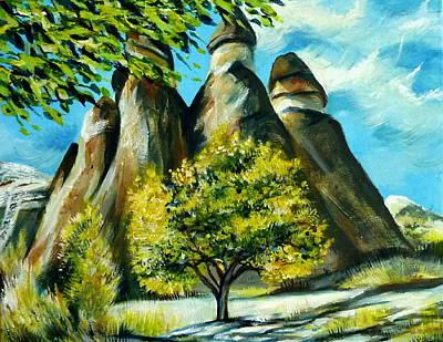 Cappadocia Autumn Print by Anna Duyunova
