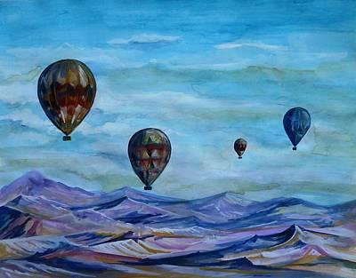Painting - Cappadocia Gravity by Anna Duyunova