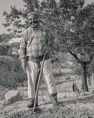 Photograph - Cappadocian Farmer, Turkey - J00703-062,s by Wally Hampton
