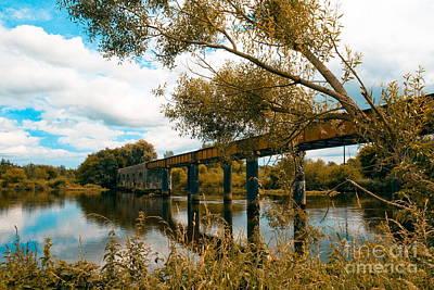 Cappaquin Railway Bridge Art Print