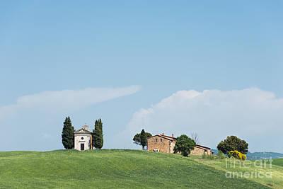 Photograph - Cappella Della Madonna Di Vitaleta In Tuscany by IPics Photography