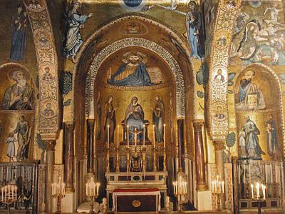 Cappella Palatina Art Print