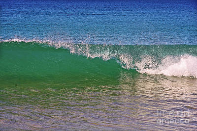 Photograph - Capping Wave By Kaye Menner by Kaye Menner