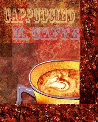 Painting - Cappuccino by Irina Sztukowski