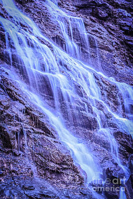 Photograph - Capra Waterfall 1 by Claudia M Photography