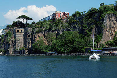 Photograph - Capri And Marina Piccola by Harvey Barrison