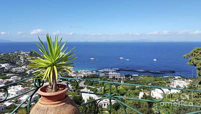Photograph - Capri Italy by Loriannah Hespe