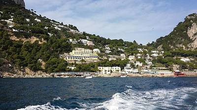 Photograph - Capri by Judith Rhue