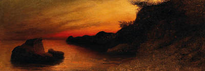 Painting - Capri by Karl Wilhelm Diefenbach