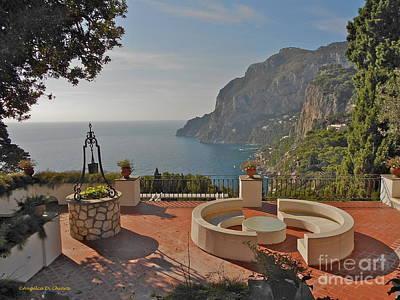 Photograph - Capri Panorama by Italian Art