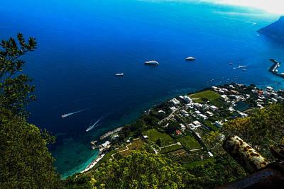 Photograph - Capri Seascape by Marilyn Burton