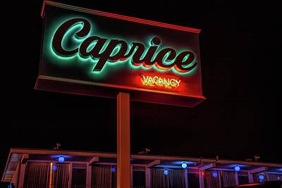 Photograph - Caprice Hotel Wildwood by Kristia Adams