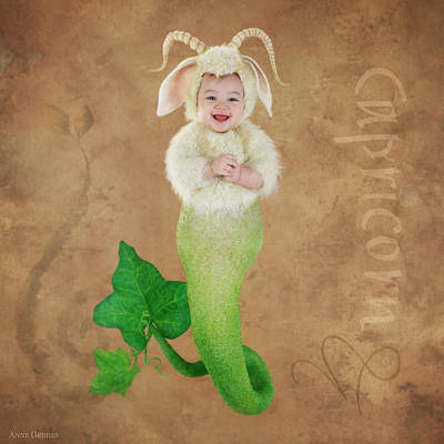 Photograph - Capricorn by Anne Geddes