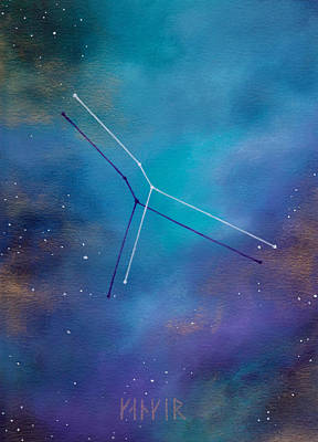 Painting - Cancer Constellation by Stephanie Hollingsworth