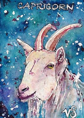 Painting - Capricorn by Ruth Kamenev