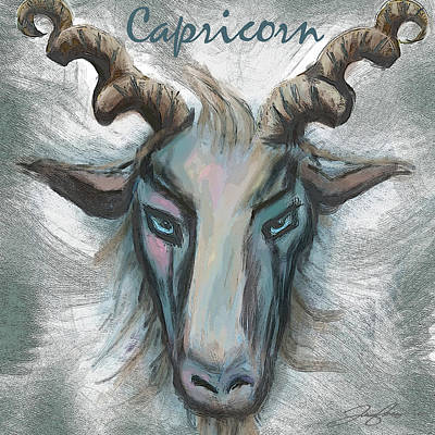 Painting - Capricorn by Tony Franza