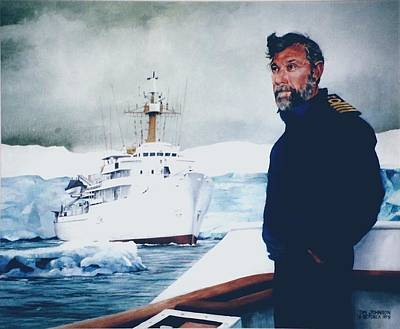 Painting - Capt Derek Law by Tim Johnson
