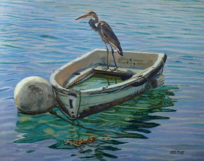 Capt. G. B. Heron Art Print by Otto Trott