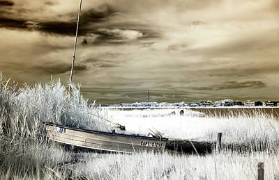 Capt Steve Brown Infrared Art Print by John Rizzuto