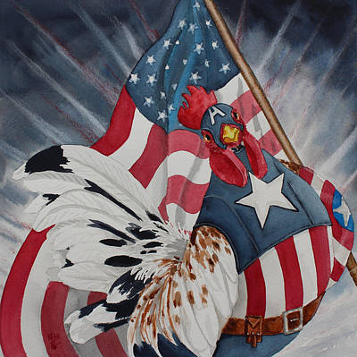 Captain Ameraucana Original by Kirsten Beitler