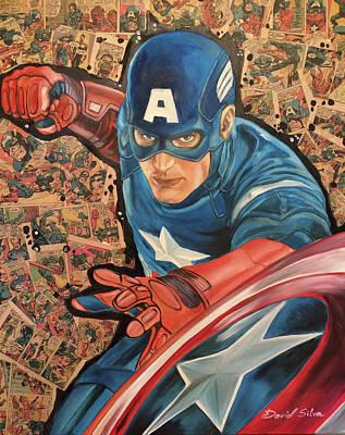 Captain America Original by David DaSilva