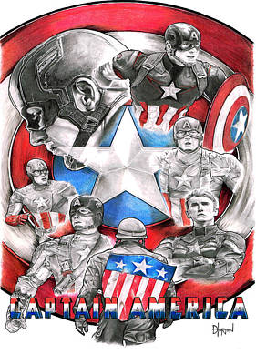 Captain America Original by David Horton