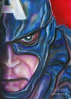 Captain America Original by John Sodja