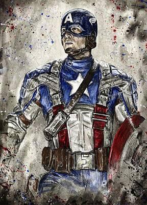 Captain America Original by Nate Michaels