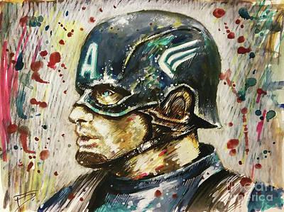 Captain America Original by Tal Dvir