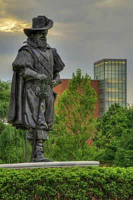 Photograph - Captain Christopher Newport by Jerry Gammon