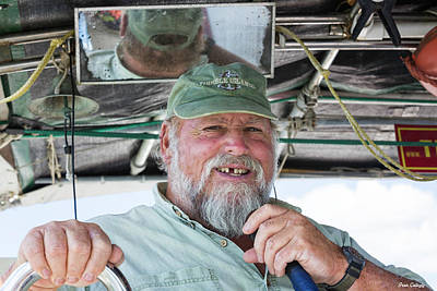 Photograph - Captain Dave by Fran Gallogly