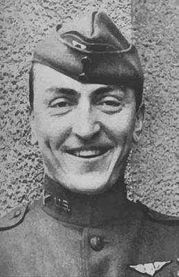 Us Army Fighters Painting - Captain Eddie Rickenbacker by War Is Hell Store