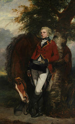 Painting - Captain George K. H. Coussmaker  by Joshua Reynolds