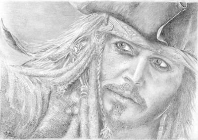 Captain Jack Sparrow Art Print by Bitten Kari