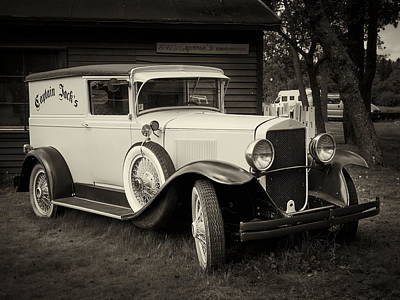 Photograph - Captain Jacks Car by Jouko Lehto