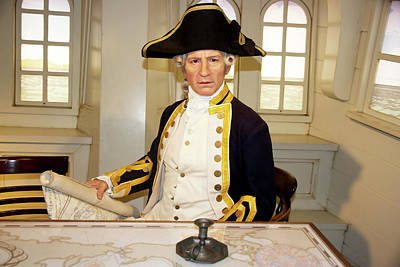 Photograph - Captain James Cook by Miroslava Jurcik