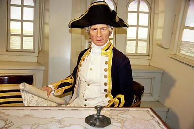 Photograph - Captain James Cook by Miroslava Jurcik