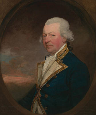 Captain John Macbride Art Print by Gilbert Stuart