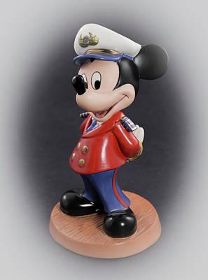 Photograph - Captain Mickey by Greg Thiemeyer