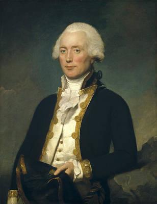 Lemuel Francis Abbott Painting - Captain Robert Calder by Lemuel Francis Abbott