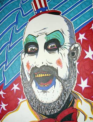 Captain Spaulding Original by Michael Toth