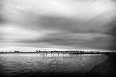 Bay Photograph - Captain William Clark Fishing Pier by Simmie Reagor