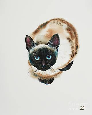 Painting - Captivated by Zaira Dzhaubaeva