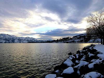 Kelowna Photograph - Captivating Okanagan Lake by Will Borden