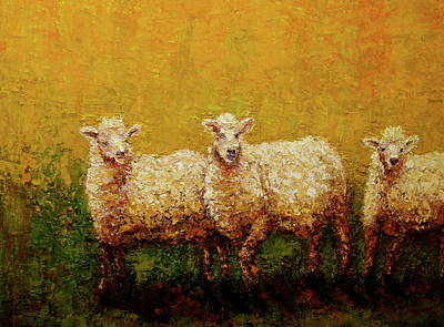 Painting - Captive Audience by Marie Hamby