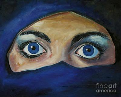 Captive Eyes Original by Alan Metzger