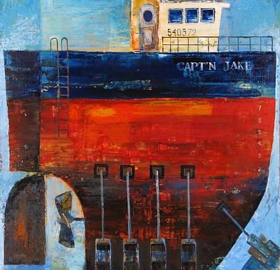 Painting - Captn Jake by Mikhail Zarovny
