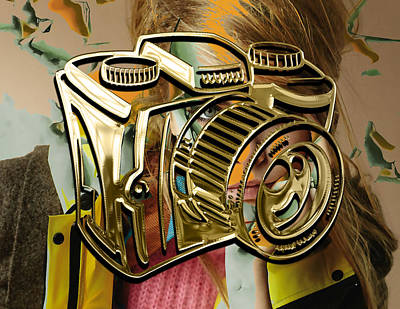 Mixed Media - Capture Camera Collection by Marvin Blaine