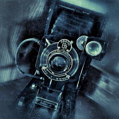 Photograph - Captured Antique by Kathleen Messmer