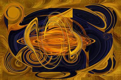 Digital Art - Capturing A Galaxy by rd Erickson